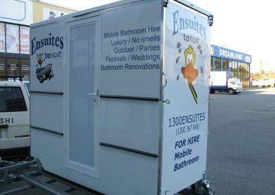 Mobile Bathroom Unit