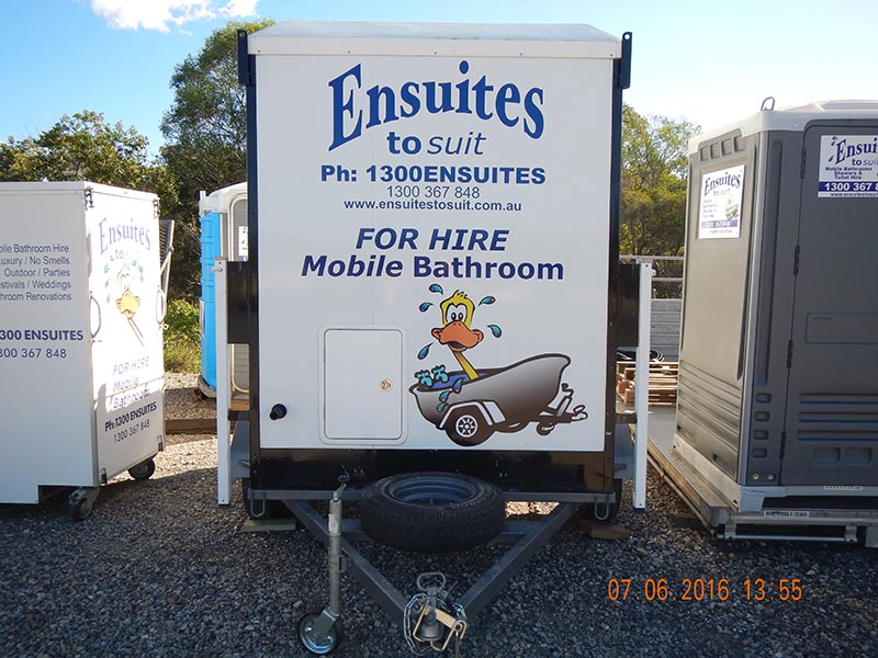 Ensuite Bathroom Hire portable bathroom hire, luxury ensuite mobile bathrooms